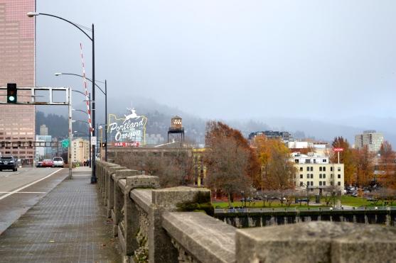 Crossing the Burnside Bridge